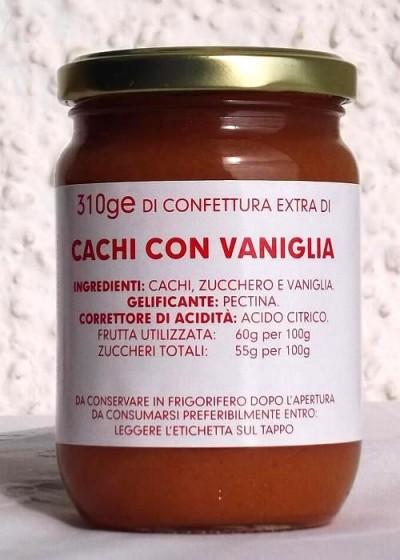 Confettura Extra Cachi con Vaniglia