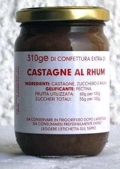 Confettura Extra di Castagne al Rhum