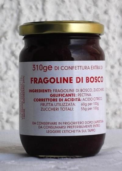 Confettura Extra di Fragoline di Bosco