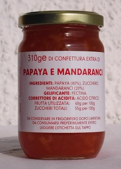 Confettura Extra di Papaya e Mandaranci