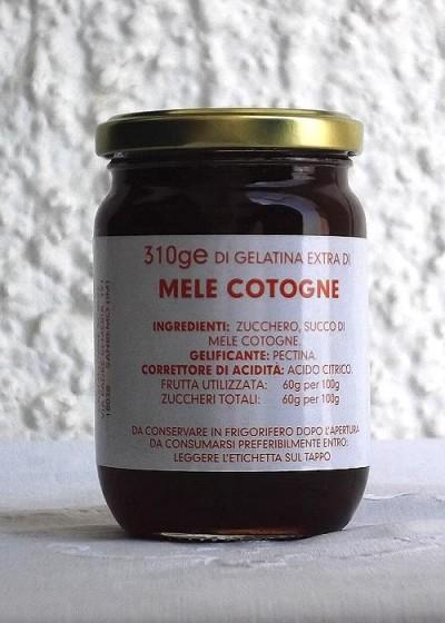 Gelatina extra di MELE COTOGNE