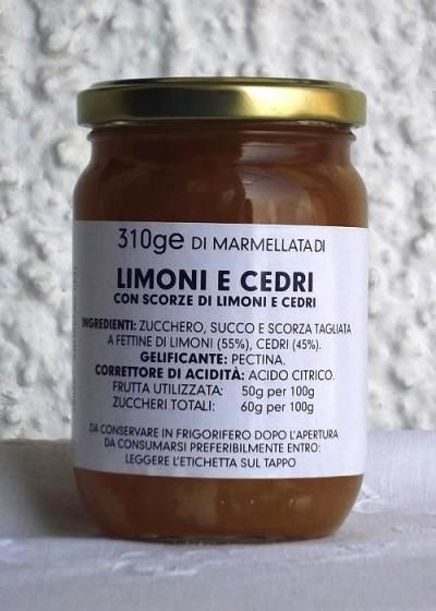 Marmellata di LIMONI E CEDRI